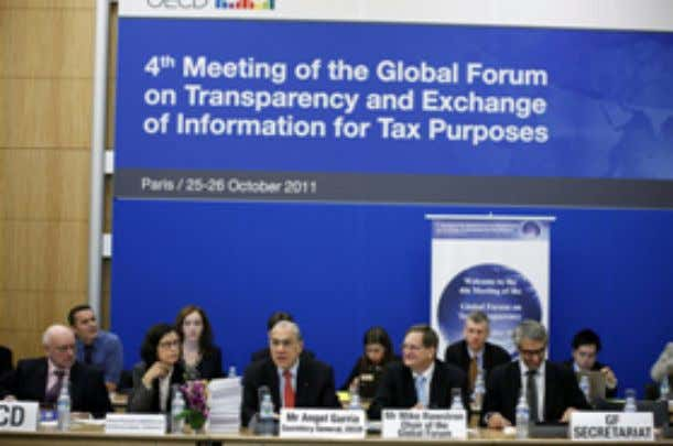 for Tax Purposes was held from 25-26 October 2011 in Paris. The Global Forum, under the
