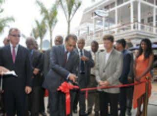 biggest mall in the island, by the Mauritian Prime Minister The month of October saw the