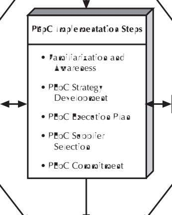 PEpC Implementation Steps • Familiarization and Awareness • PEpC Strategy Development • PEpC Execution Plan