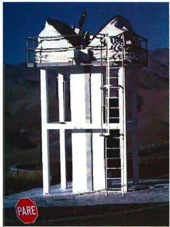tion. It was installed on the 5-m-high con- crete tower in Apri/1993 and can be remotely