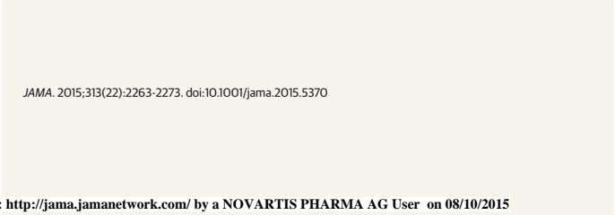 Downloaded From: http://jama.jamanetwork.com/ by a NOVARTIS PHARMA AG User on 08/10/2015