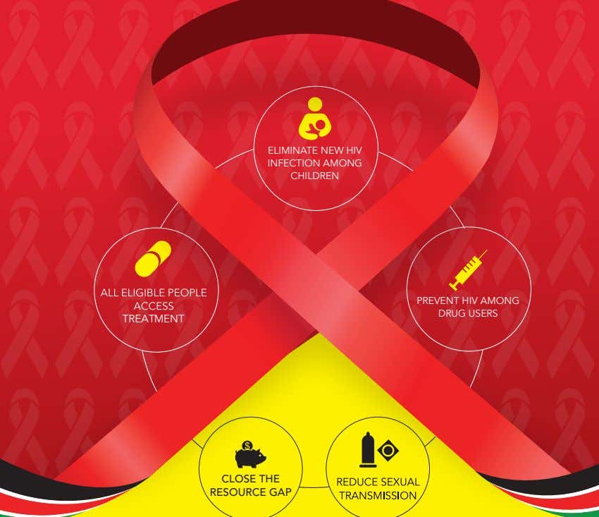 ELIMINATE NEW HIV INFECTION AMONG CHILDREN PREVENT HIV AMONG DRUG USERS TREATMENT CLOSE THE RESOURCE