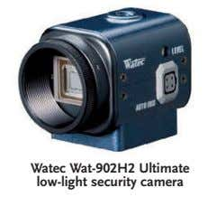Watec Wat-902H2 Ultimate low-light security camera