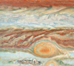 (GSFC) / N. CHANOVER (NM STATE UNIV.) / G. ORTON (JPL) near the Great Red Spot)