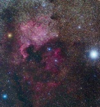 appear pale and more magenta than with the other cameras. Canon 60Da — Red emission nebulosity
