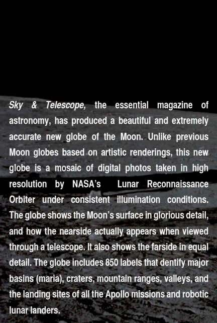 Sky & Telescope, the essential magazine of astronomy, has produced a beautiful and extremely accurate