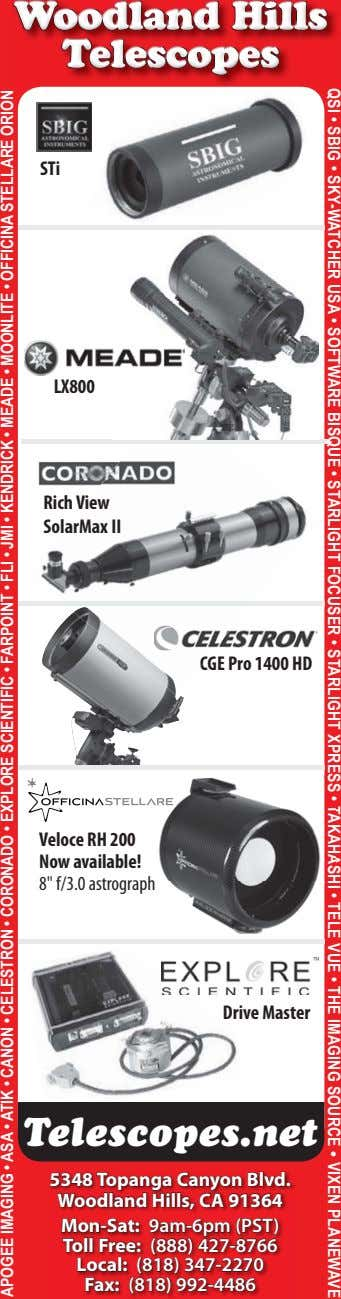 STi LX800 Rich View SolarMax II C CGE Pro 1400 HD Veloce RH 200 Now