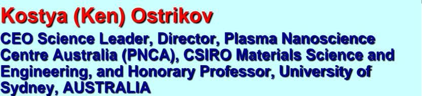 Australia (PNCA), CSIRO Materials Science and Engineering, and Honorary Professor, University of Sydney, AUSTRALIA