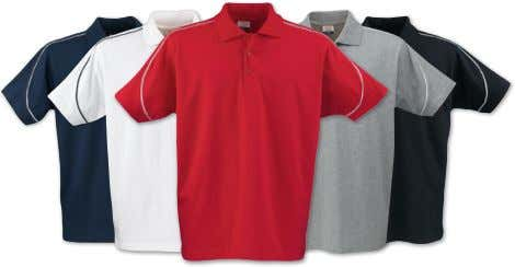 • S–XXL PRINTER ACTIVE WEAR POLO SHIRTS AND T-SHIRTS 79 Canoe 2265008 Poloshirt in enkel tricot