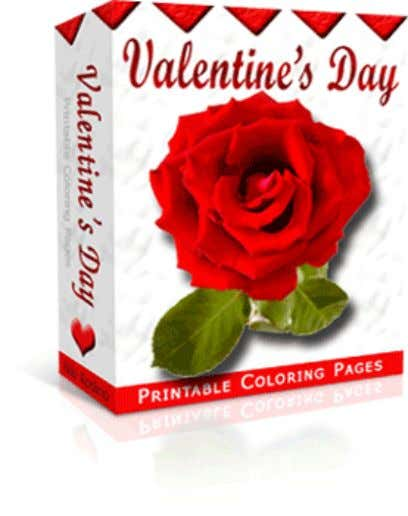 Valentine's Day Printable Coloring Pages Brought to you by: {--YourName--} On the Web: {--YourDisplayURL--} **You must