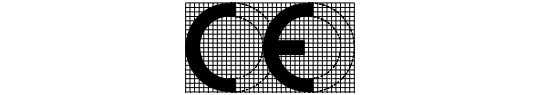 "CE conformity marking, consisting of the ""CE""-symbol given in Directive 93/68/EEC."