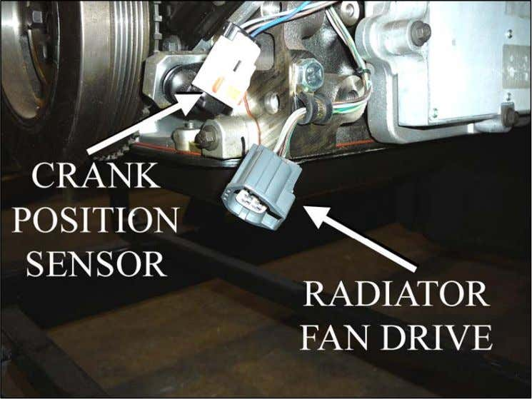 Also the the to its original pictured right is (RAD FAN this DR) radiator fan drive