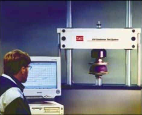 provides to Trelleborg Industrial AVS excellent opportu- nities for product development. Dynamic stiffness test 7