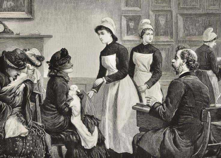 example helped to open up the medical profession to women. y A nurse in a foundling