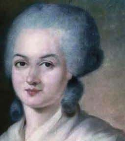 OLYMPE DE GOUGES trade. Born Marie Gouze in 1748, Olympe de Gouges overcame a questionable parentage