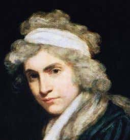 MARY WOLLSTONECRAFT The Anglo-Irish feminist and radical Mary Wollstonecraft was born in London in 1759. Her