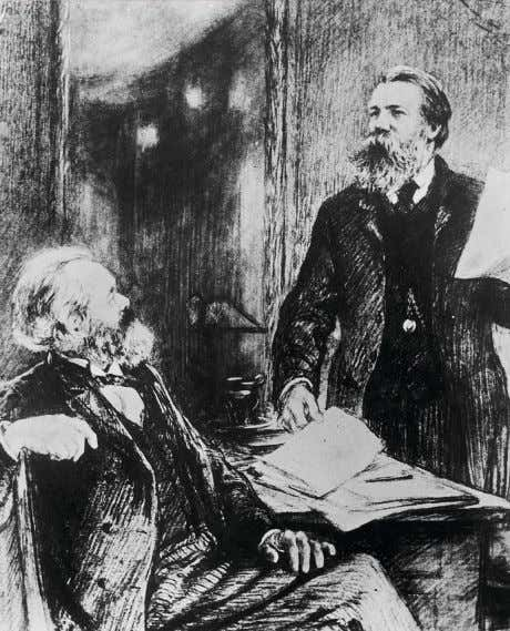spheres, which then led to the control of female sexuality. Karl Marx (left) and Friedrich Engels