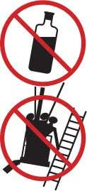 lift or elevator. Never use the platform or tow or haul. To avoid risks of tipping
