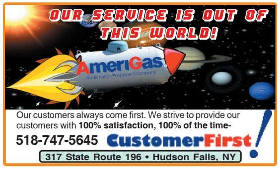 Our customers always come first. We strive to provide our customers with 100% satisfaction, 100% of