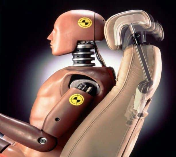 differential movement between the head and torso. [18, 19] Figure 3 – SAAB Active Head Restraint
