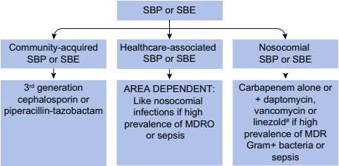 SBP or SBE Community-acquired SBP or SBE Healthcare-associated SBP or SBE Nosocomial SBP or SBE 3