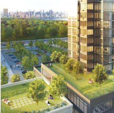 DISCOVER COLUMBUS SQUARE 775 COLUMBUS AVENUE A NEW LUXURY LIFESTYLE BUILDING AMENITIES Private Landscaped Deck