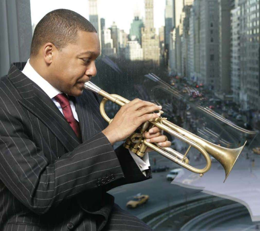 Clay PatriCk MCBride m UWS PEOPLE WYNTON MARSALIS King of JAZZ Jazz at Lincoln Center's reigning