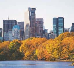 Quintessential New York living exists steps from Lincoln Center, Central Park and some of the