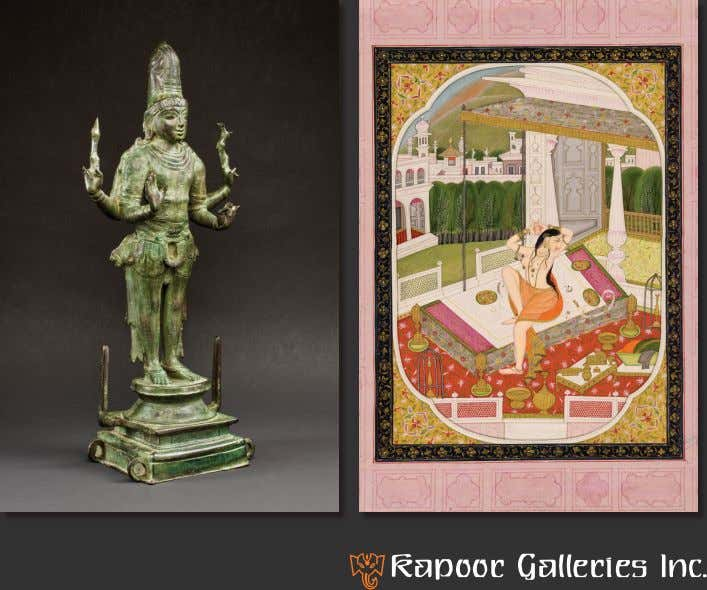of Indian and Himalayan Art MARCH 19 t h - 26 t h 1015 Madison Avenue,