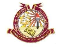 THE UNIVERSITY OF KASHMIR Hazratbal, Srinagar (Note: This form is not applicable for results declared