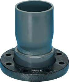 cement jointing Mechanical jointing Flanged connections For underground applications the solvent cement joint is NOT