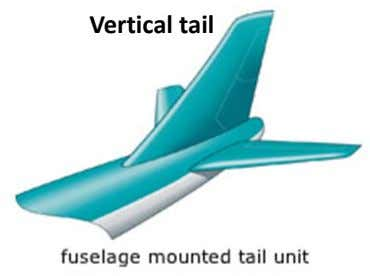Vertical tail