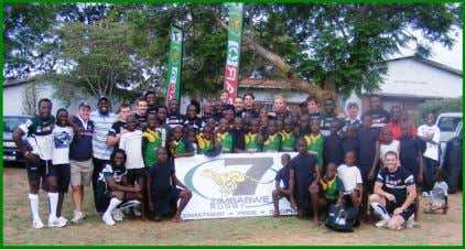 our involvement at this tournament.' Mbare Rugby Academy The Cheetahs held a training session at Gary