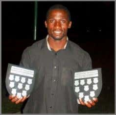 Award: Jacques Leitao Player of The Year: Jacques Leitao Dragons 8th Man Njabulo Ndlovu awarded Top