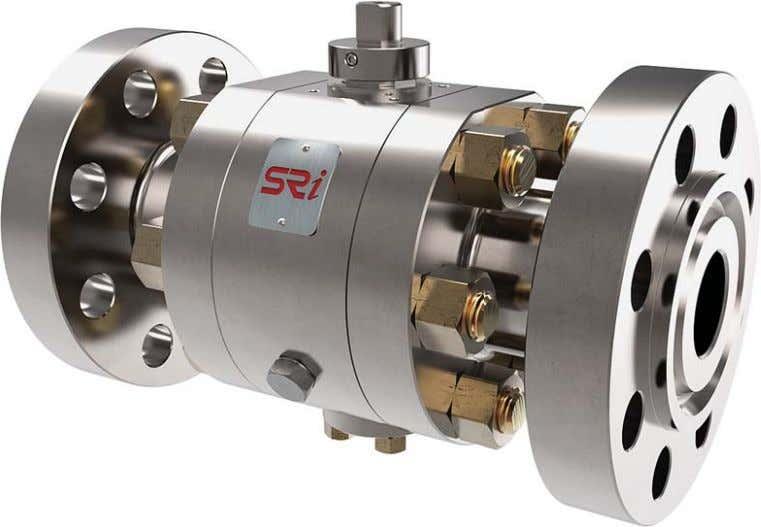 SRI Main Products Side-Entry The side-entry ball valve is the most common and popular design. Based