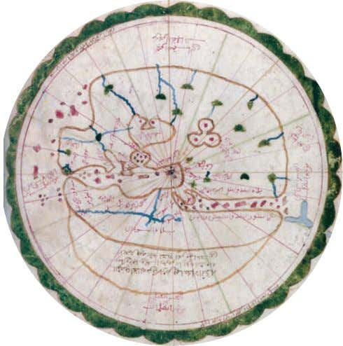 "along "" tribal "" A world map drawn in 1571–72 by the al-Sharafi al-Sifaqsi family in"