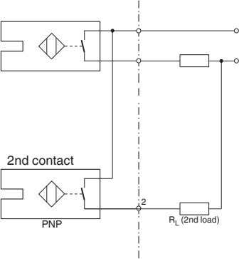 2nd contact 2 R L (2nd load) PNP