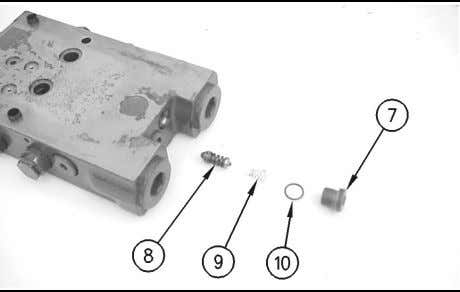 (3). Remove O-ring seals (5) and (6) from both solenoids. Illustration 205 g00746727 4. Carefully remove