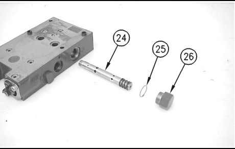 Step for the metering valve assembly on the opposite side. Illustration 212 g00746831 14. Remove plug