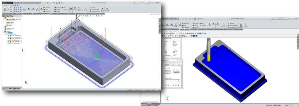Exercise #1: iMachining Walkthrough This exercise is a step-by-step guide on the definition process of SolidCAM's