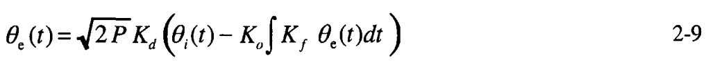 Integral equations such as Equation 2-9 are difficult to solve, so we use the differential