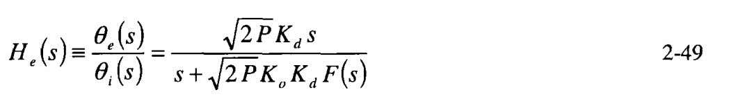 in the numerator. The transfer function for as the output is The reader is cautioned to