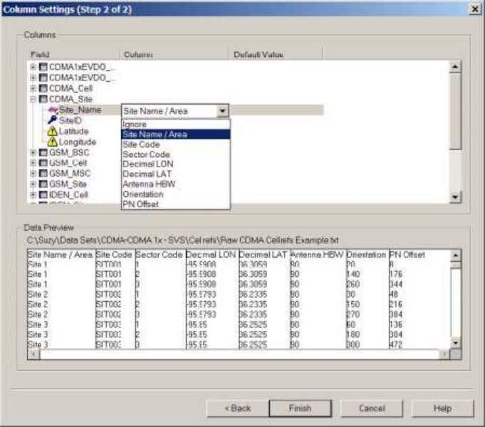 Actix Analyzer Getting Started Guide May 2015 Configuring Analyzer 17 8 Click Next to display the