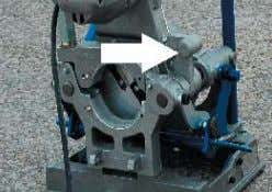 that are very sharp and can cut the operator severely. Warning: Do not operate facer motor