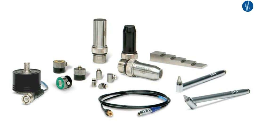 and Test Blocks for Ultrasonic Precision Thickness Gages Olympus NDT offers a complete selection of transducers,