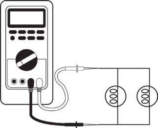a utomotivE t Echnology c. Connect the resistors or bulbs A and B in parallel. Measure