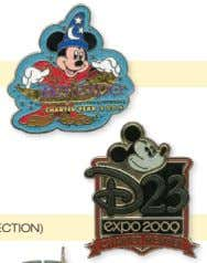 pins will be released each day during the D23 Expo. THURSDAY, SEPTEMBER 10 Charter Year 2009
