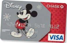 REWARDS ® VISA ® CARD FROM CHASE LOCATION: HALL C The Disney Rewards Visa Card from
