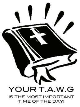 pleases God. Remember SEEK Christ First : S Set your heart Spending T.A.W.G is like setting