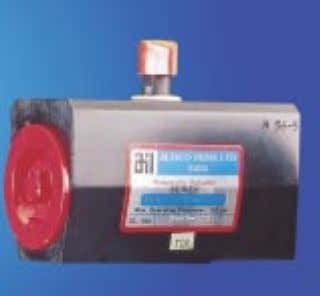 for use with ball valves. Spring Return (SR) type Actuator Double Acting (DA) type Actuator SERIES